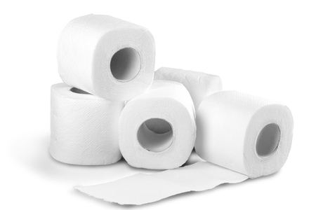 Photo for Soft toilet paper - Royalty Free Image