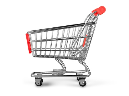 Photo for Shopping Cart - Royalty Free Image