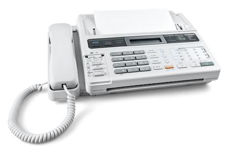 Photo pour Telephone and Fax Machine - image libre de droit