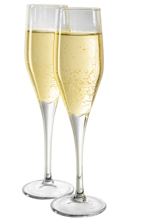 Photo for Two Champagne Glasses - Royalty Free Image
