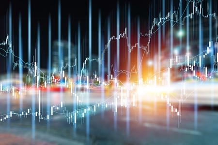 Foto de Various type of financial and investment products in Bond market. i.e. REITs, ETFs, bonds, stocks. Sustainable portfolio management, long term wealth management with risk diversification concept. - Imagen libre de derechos