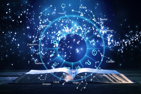 Foto de Horoscope Astrology Zodiac Horoscope Zodiac Fortune Sign Myth Stars Symbol , Traditional - Imagen libre de derechos