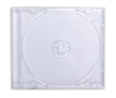 Photo for Plastic CD / DVD Jewel Case Isolated - Royalty Free Image