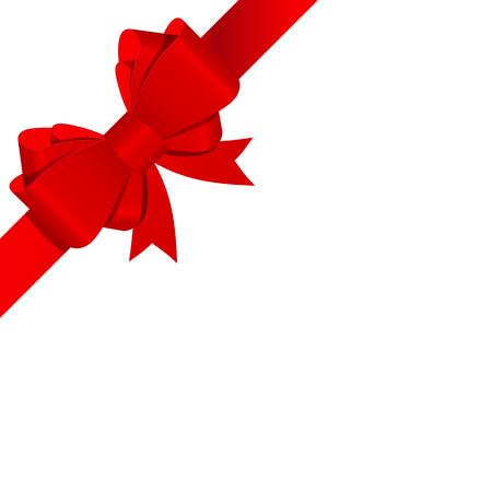 Illustration pour Gift Bow with Ribbon Vector Illustration - image libre de droit