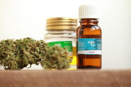 Photo pour cannabis oil cbd - image libre de droit