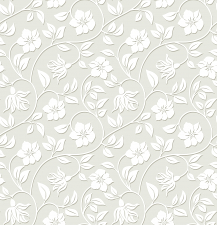 Photo for Floral seamless background - pattern for continuous replicate. - Royalty Free Image