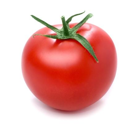 Foto de Tomato isolated on white background. - Imagen libre de derechos