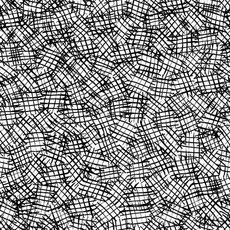 Illustration pour Seamless hatching pattern. - image libre de droit