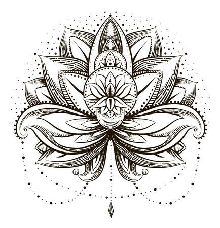 Illustration pour Vector ornamental Lotus - image libre de droit
