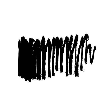 Ilustración de Grunge Ink pen Stroke - Imagen libre de derechos