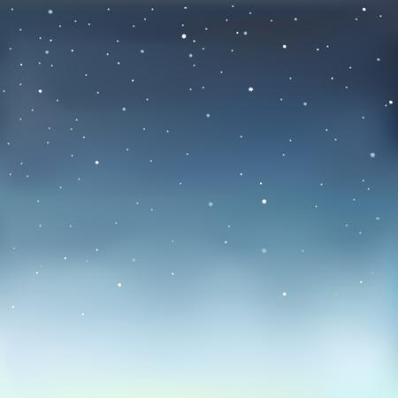Illustration pour Vector illustration in eps 10 format of a starry sky. - image libre de droit