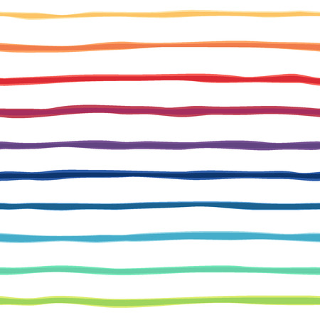 Illustration pour Abstract rainbow seamless background. Colorful picture of gradient strips. illustration. Great for congratulation cards - image libre de droit