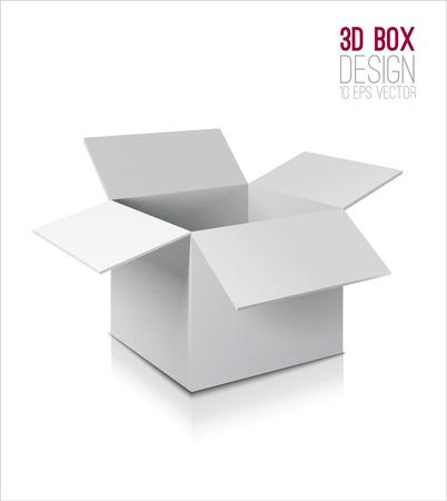 Illustration pour Cardboard box icon. - image libre de droit