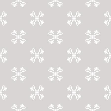 Ilustración de Subtle vector seamless pattern with carved crosses. - Imagen libre de derechos