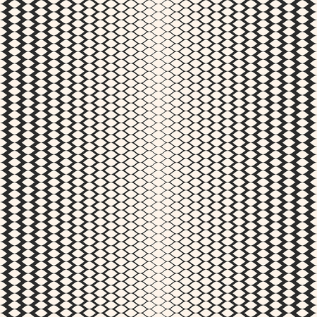 Illustration pour Halftone seamless pattern, vector monochrome texture with gradient transition effect. Illustration of mesh with gradually thickness. Modern abstract background. Stylish design for prints, decor, cloth - image libre de droit