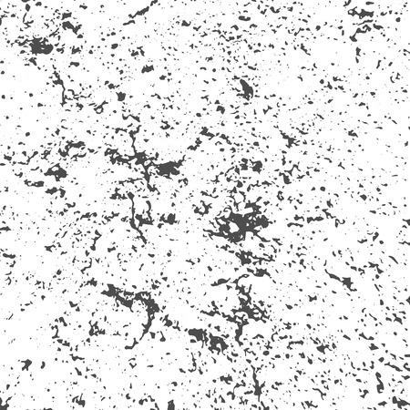 Illustration pour Grunge Black and White Distress Texture - image libre de droit
