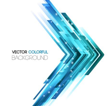 Illustration pour Vector illustration Abstract technology lines vector background. - image libre de droit