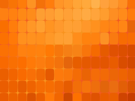 Illustration pour Abstract orange mosaic background. Vector illustration. Orange background - image libre de droit