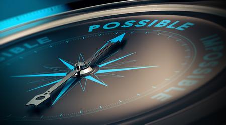 Photo pour Motivational concept, achievement of goals thanks to confidence. Compass pointing the text save money, blue and beige tones. - image libre de droit