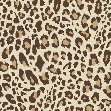 Illustration pour Leopard pattern, seamless background Vector illustration. - image libre de droit