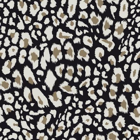 Ilustración de Leopard pattern, Vector illustration.  - Imagen libre de derechos