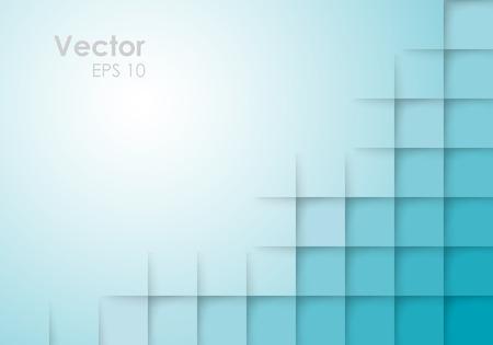 Illustration pour Abstract Blue Vector Background - image libre de droit