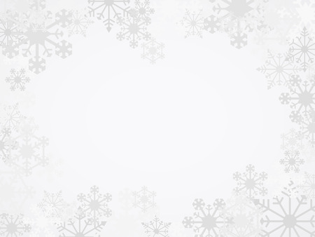 Illustration for Vector Winter Snowflake Background - Royalty Free Image