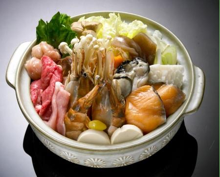 Photo for Beef Sukiyaki , Japanese Food chabu chabu - Royalty Free Image