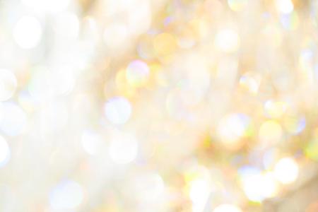 Foto de Soft yellow and white light Crystal blur bokeh luxury abstract background - Imagen libre de derechos