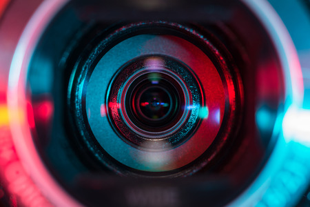 Photo for Video camera lens - Royalty Free Image