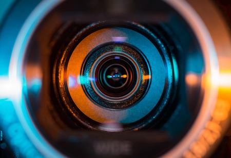 Foto de Video camera lens - Imagen libre de derechos