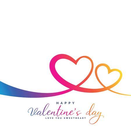 Illustration pour Valentine's day, red hearts icon. - image libre de droit