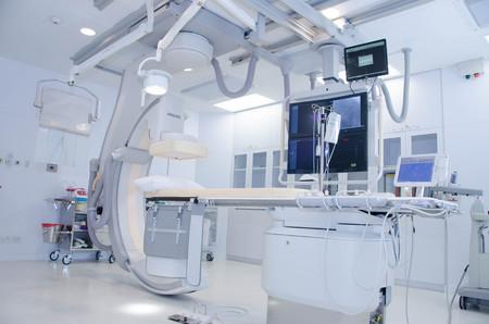 Foto de Cathlab in modern hospital - Imagen libre de derechos