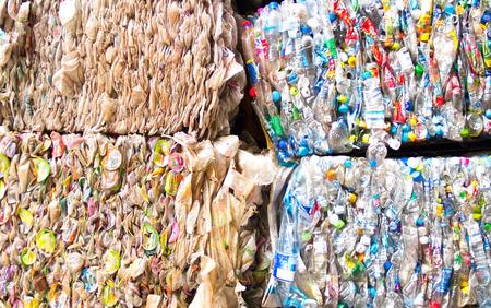 Foto de Plastic scrap for recycling - Imagen libre de derechos