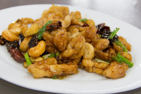 Photo for Fried Chicken with Cashew Nut - Royalty Free Image