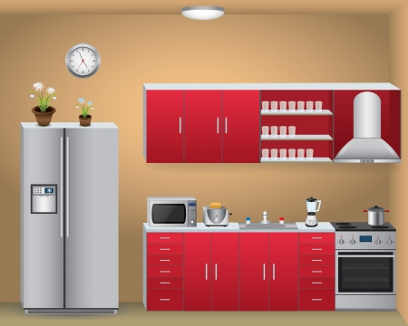 Illustration pour Kitchen - image libre de droit