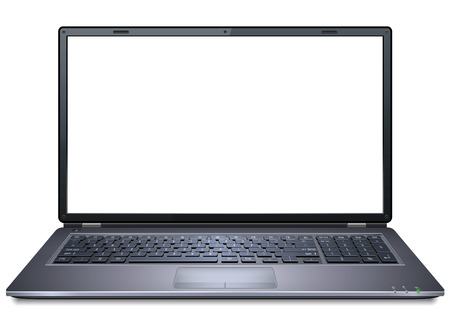 Illustration for Realistic Laptop - Royalty Free Image