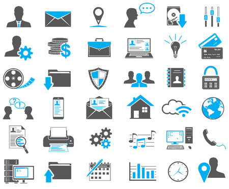 Illustration pour Web Icons Set - image libre de droit