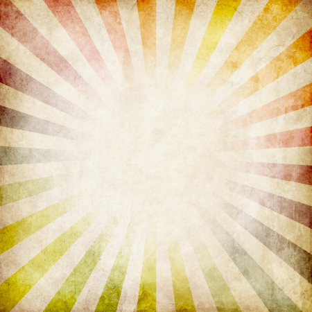 Foto de colorful grunge rays background - Imagen libre de derechos