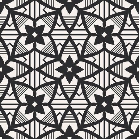 Illustration pour seamless geometric pattern - image libre de droit