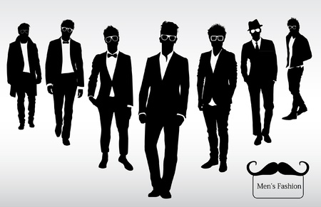 Illustration for Men s fashion - Royalty Free Image