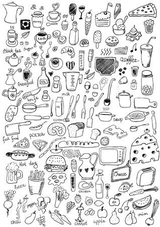 Illustration pour Food Icons - image libre de droit
