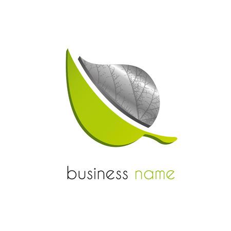 Illustration pour Leaf logo - image libre de droit