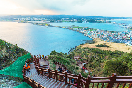 Photo for Jeju do beach Island, South Korea - Royalty Free Image