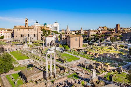 Foto per The Roman Forum in Rome, Italy. - Immagine Royalty Free
