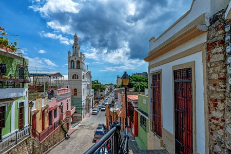 Photo pour View of Santo Domingo, capital of Dominican Republic - image libre de droit