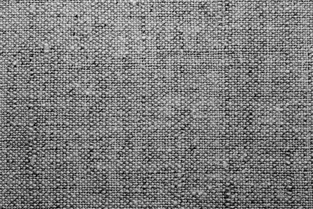Photo for Texture a linen cloth, a black and white image. - Royalty Free Image