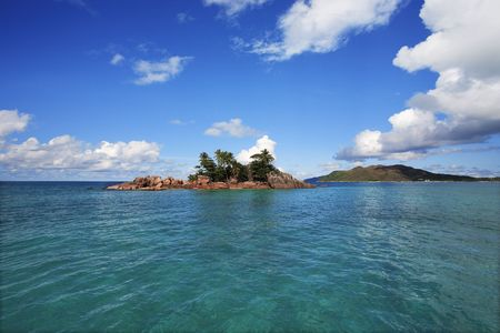 Photo for saint pierre island in seychelles idian ocean - Royalty Free Image