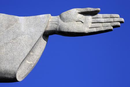 Photo pour corcovado christ redeemer in rio de janeiro brazil - image libre de droit