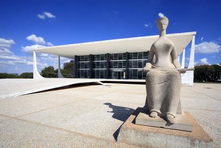 Photo pour Supreme Federal Tribunal - image libre de droit